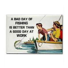 Fishing Fridge Rectangle Magnet > Funny Fridge Magnets > Cafe Pretzel T-Shirts & Gifts