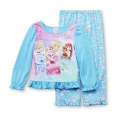 Disney Princess Mattel Barbie 2pc Pajama Set Baby Toddler Select Style Size NWT