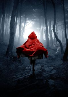 Little Red Riding Hood, Paula Stirland Fantasy Magic, Dark Fantasy Art, Dark Art, Red Riding Hood Wolf, Red Ridding Hood, Fantasy Photography, Types Of Photography, Arte Obscura, Book Cover Design