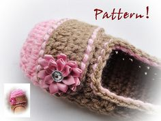 Ravelry: Delicious Crochet Slippers Pattern pattern by Maria Manuel