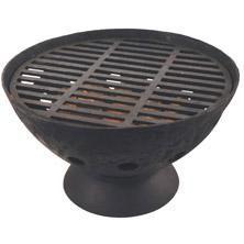 Deze grote zwarte gietijzeren vuurpot van Esschert zorgt voor veel warmte en gezelligheid.  Na het barbecuen op de meegeleverde grillplaat tovert u de vuurpot eenvoudig om tot een sfeervolle vuurschaal. Een avondje barbecuen met vrienden kan zo doorgaan tot in de late uurtjes. Onze prijs € 109,95