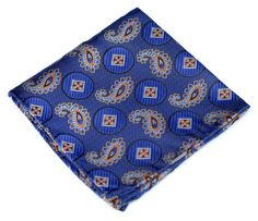 Lord R Colton Woven Silk Pocket Square:  [22]