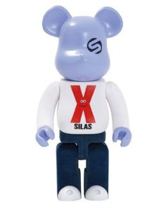 F/S Medicom Toy BE@RBRICK 400% SILAS 10th ANNIVERSARY Bearbrick from Japan #MEDICOMTOY