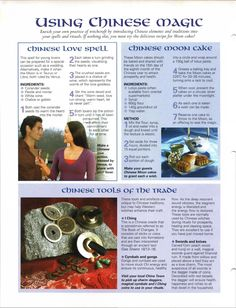 Mind, Body, Spirit Collection - using Chinese Magic Witch History, Wicca Witchcraft, Mind Body Spirit, Magic Spells, Kitchen Witch, Gods And Goddesses, Book Of Shadows, The Magicians, Witches