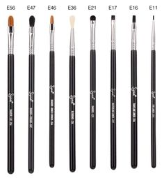Learn all about the various uses for each of the brushes in the Performance Eyes Kit -- now sold individually! #sigmabeauty Read more: http://www.sigmabeautytalk.com/2013/06/17/now-individual-performance-eyes-kit/