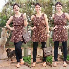 blog v@ LOOKS | por leila diniz: ♥ Look com SANDÁLIA (coisa rara) + vestidinho FOFO...