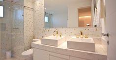 Banheiros pequenos: ideias para decorar espaços reduzidos - BOL Fotos