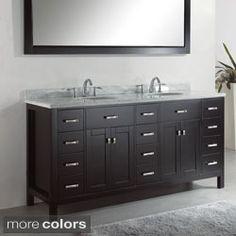 Shop For Virtu USA Caroline Parkway 72 Inch Double Sink Bathroom Vanity  Set. Get
