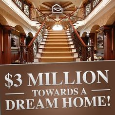 All mine LaShondra Gibson Enter Sweepstakes, Online Sweepstakes, Pch Dream Home, Mega Millions Jackpot, Lotto Winning Numbers, Win For Life, New Staircase, Lottery Winner, Congratulations To You