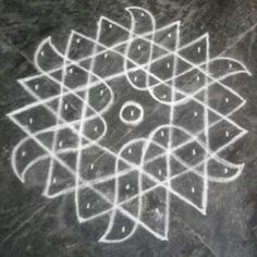 Rangoli Designs Latest, Rangoli Designs Flower, Small Rangoli Design, Rangoli Designs Diwali, Rangoli Designs Images, Rangoli Designs With Dots, Rangoli With Dots, Beautiful Rangoli Designs, Simple Rangoli