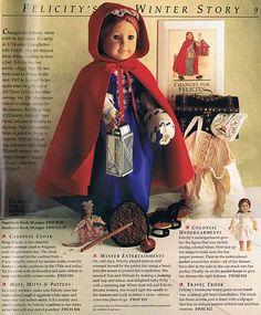 Felicity's Birthday Story Photo: Felicity's Birthday Story introduced scan by eeyorestoys. American Girl Books, American Girl Dress, American Girl Clothes, Ag Dolls, Girl Dolls, American Girl Felicity, Old School Toys, America Girl, Princess Photo