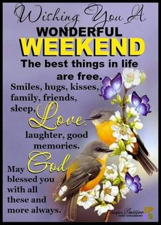 🌞😊🌻 Wishing everyone a blessed & wonderful very long weekend ending with the New Year Enjoy it with your family & friends! Good Morning Friends Quotes, Saturday Morning Quotes, Happy Weekend Quotes, Afternoon Quotes, Good Morning Inspirational Quotes, Good Morning Happy, Its Friday Quotes, Sunday Quotes, Good Night Quotes