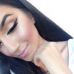 Make up flawless Makeup On Fleek, Kiss Makeup, Flawless Makeup, Gorgeous Makeup, Pretty Makeup, Love Makeup, Makeup Inspo, Makeup Inspiration, Hair Makeup