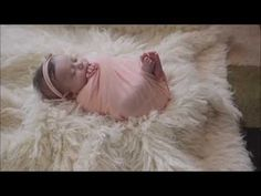 Newborn Photography wrapping tutorial - YouTube
