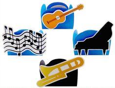 Kit Forminhas Música 2