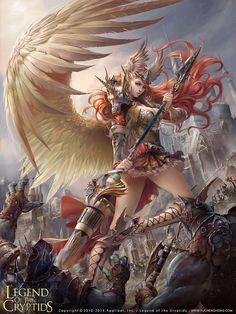 Illustration: Black wing Angel by thuyngan on DeviantArt Dark Fantasy Art, Anime Fantasy, Fantasy Girl, Fantasy Artwork, Fantasy Art Women, Beautiful Fantasy Art, Fantasy Kunst, Fantasy Warrior, Fantasy Rpg
