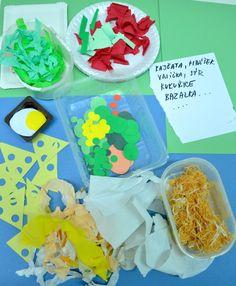 Výtvarka doma - 5 tipů, jak si tvoření společně s dětmi užít - výtvarné návody a postupy na tvoření Mexican, Ethnic Recipes, Food, Essen, Meals, Yemek, Mexicans, Eten
