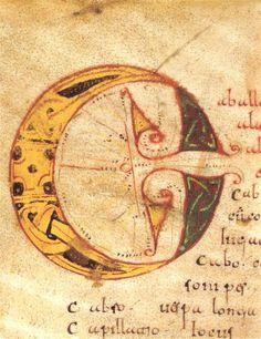 Códice Emilianense 46(letras capitulares) Real Academia de la Historia- www.valleNajerilla.com