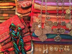 Victoria Z Rivers Jewelry withAntique Moroccan Silver Amulets++Coral+Coins+Trade Beads+ Tribal Diamonds - Home