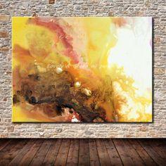 """Robo Hand Modern Pop Art Canvas Triptych Print 30/""""x48/"""""""