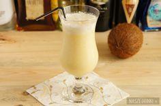 Pina Colada (Piňa Colada) to bardzo popularny, wakacyjny drink z rumem. Jego nazwa pochodzi z hiszpańskiego: piña – ananas, colada – przecedzony