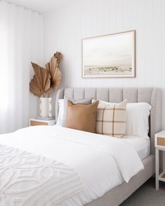 My Guest Bedroom Renovation Reveal — Adore Home Magazine Home Interior, Interior Design, Kids Room Furniture, House And Home Magazine, Home Bedroom, Calm Bedroom, Guest Bedroom Decor, Guest Bedrooms, New Room