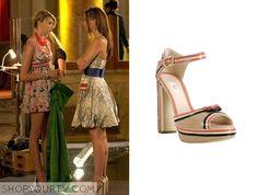 Gossip Girl: Season 2 Episode 5 Blair's Nude Bow Heels