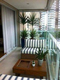 Awesome 46 Beautiful Apartment Balcony Decoration Ideas. More at https://homenimalist.com/2018/04/05/46-beautiful-apartment-balcony-decoration-ideas/