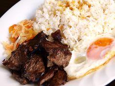 I miss Filipino food. Tapsilog.