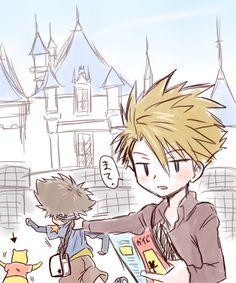 Matt and Tai go to Disneyland