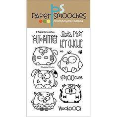 Paper Smooches Clear Stamps, 4 by 6-Inch, Chubby Chums Paper Smooches http://www.amazon.com/dp/B00IA8XFKQ/ref=cm_sw_r_pi_dp_yUMLvb0N6HZ4J