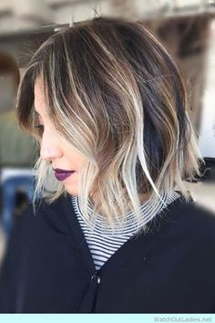 Surfer hair with high contrast