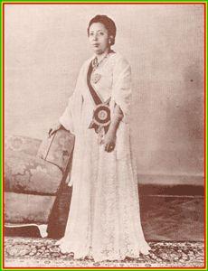 Her Imperial Highness Princess Tenagnework Haile Selassie of Ethiopia