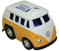 Zoomies™ Bus These miniature cars with pull-back action have real zip. Buses For Sale, Advertising Slogans, Miniature Cars, Quality Logo Products, Vw Beetles, Logo Color, Vw Bus, Business Logo, Stress Relief