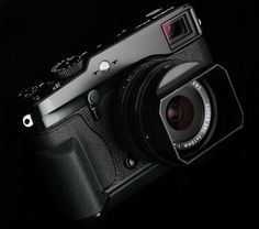 Fujifilm X-Pro1 + 18mm f2 lens and hand grip