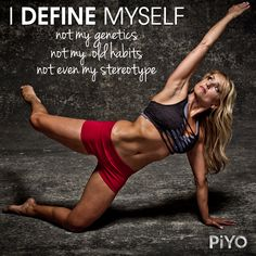 You define YOU! Don't let anyone tell you otherwise. #fitness