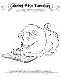 The Library Lion Kindergarten Activity