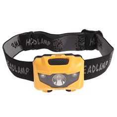 Chinatera 3w Lightweight LED Headlamp Headlight Flashlight Waterproof for Camping Running Cycling Climbing Orange * Check out the image by visiting the link.