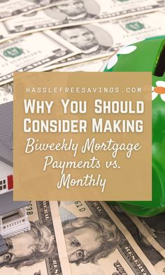 This would be equal to 12 payments a year, and no extra fees if they are all made in full and on time. A simple, predictable, easy to budget plan. Why change anything? Have you considered the benefits of making biweekly payments instead? If you're a homeowner, chances are you're making monthly payments towards your mortgage. #whyyoushould #paymenttips #mortgageguide #howto #savingtips #payment #hasslefreesavings