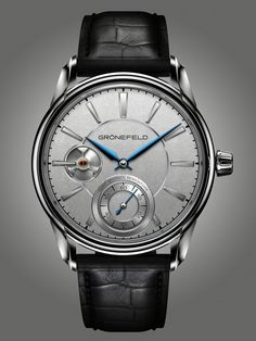 Grönefeld 1941 Remontoire Constant Force. Available in Red Gold 5N and White gold.