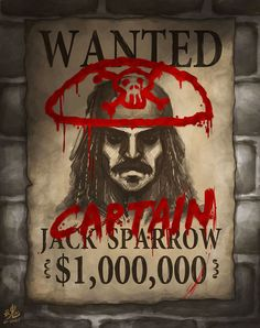 CAPTAIN Jack Sparrow by *Ry-Spirit on deviantART