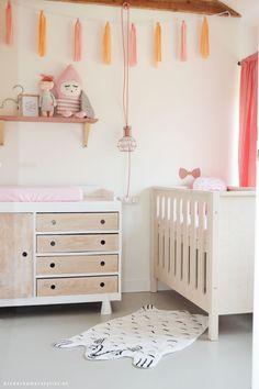 Inspirerende babykamer | Kinderkamerstylist