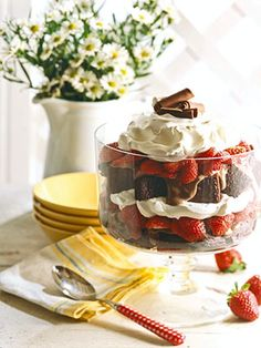 A favorite summertime dessert of warm biscuits filled with fresh strawberries and whipped cream. For a little variety, choose from the three strawberry sauces, each with a different twist, the next time you make this superb recipe.