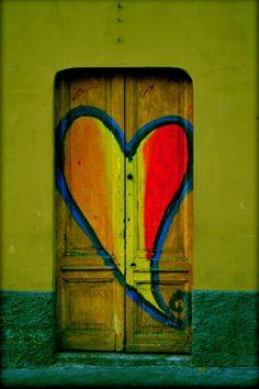Heart door