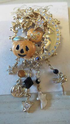 kirks folly vintage halloween pin brooch ebay