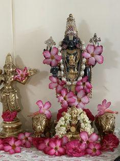 All God Images, Durga Goddess, Durga Maa, Diwali Decorations At Home, Hindu Statues, Lord Balaji, Sai Baba Photos, Pooja Room Design, Lord Vishnu Wallpapers