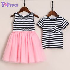e9b00471e Brother Sister Stripes Color Block Matching Outfits https://www.popreal.com