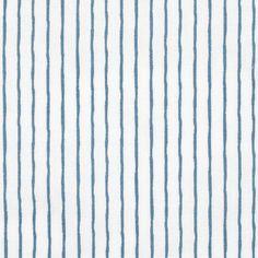 Tissu coton blanc imprimé rayures bleues Poplin, Blue Stripes, Cotton Canvas, White Cotton, Sailor, Fabrics, Dress Shirt