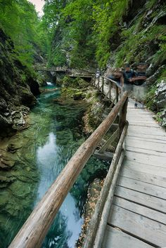 Vintgar gorge, Triglav, Slovenia , from Iryna Beautiful Places In The World, Places Around The World, Wonderful Places, Around The Worlds, Places To Travel, Places To See, Travel Destinations, Circuit Voyage, Europe Centrale