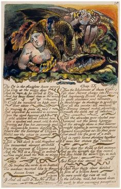 The First Book of Urizen - William Blake William Blake Paintings, Songs Of Innocence, William Black, English Poets, Occult Art, Morgan Library, Historical Art, Western Art, Great Artists